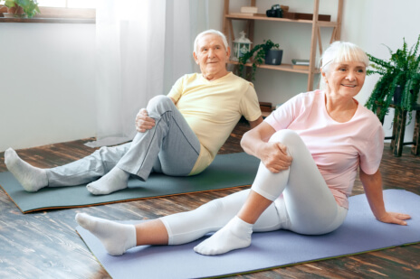 Senior Adults Must Avoid Overstretching