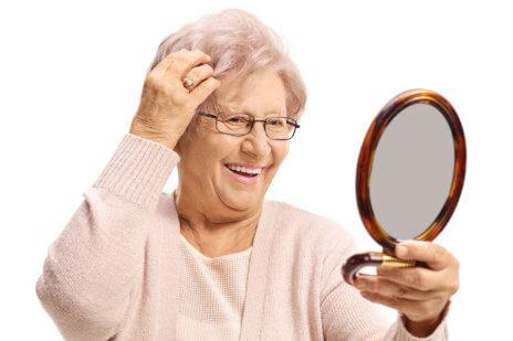 Helping Seniors Achieve Healthy Hair